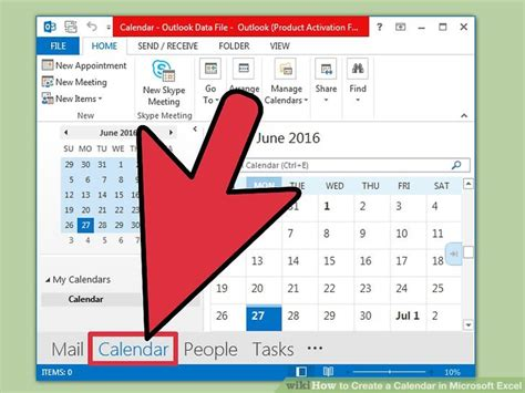 how to make a calendar in microsoft excel how to create a calendar in microsoft excel with pictures