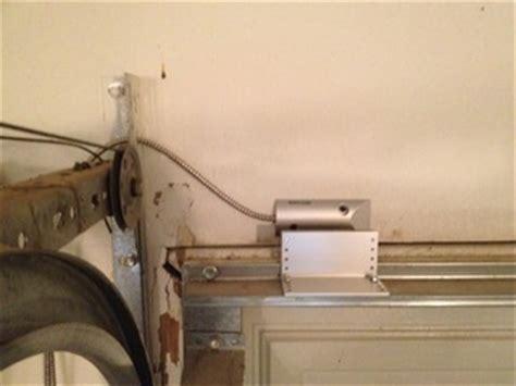 installing garage door sensors installing garage door sensors garage door sensors