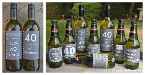 Ee  Th Ee    Ee  Birthday Ee   Beer Wine Printable Labels