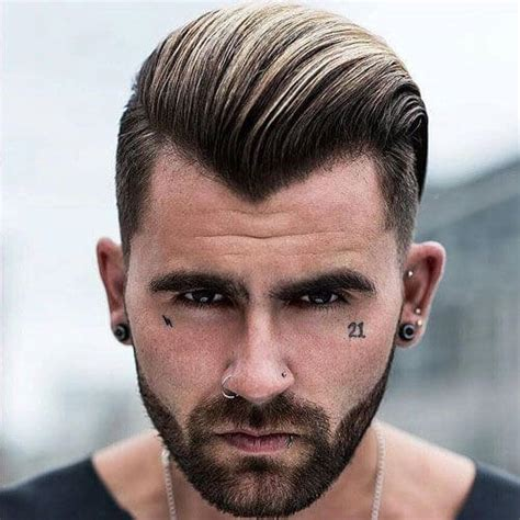 old mens widows peak hairstyles 50 smart hairstyles for men with receding hairlines men