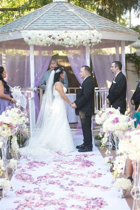 17 Best images about Purple, white, ivory romantic Wedding