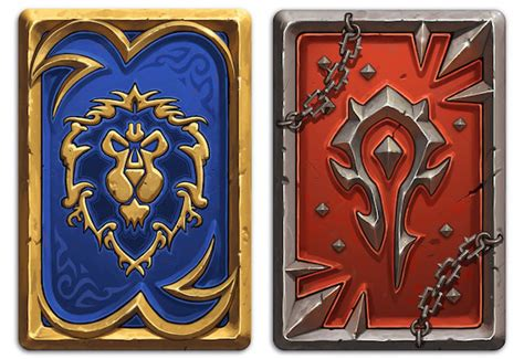 Hearthstone Card Back 3d Template by Dos De Cartes Factions Hearthstone Millenium
