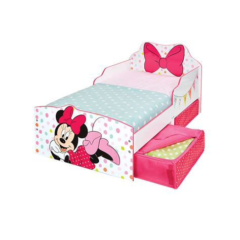 Minnie Mouse Toddler Bed With Canopy Minnie Mouse Toddler Bed With Storage