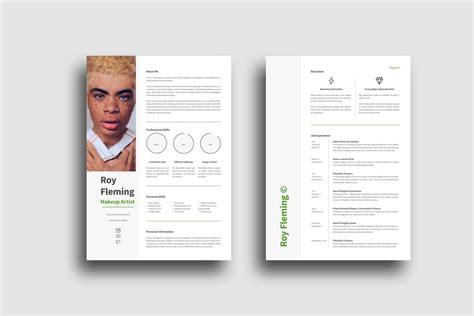 plantillas de curriculum indesign plantilla gratis de un curriculum para indesign edici 243 n maquillador pagephilia