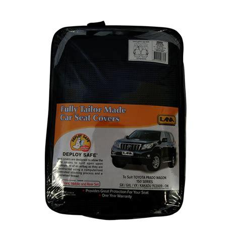 Cover Toyota Prado seat covers toyota prado 150 series airbag deploy safe