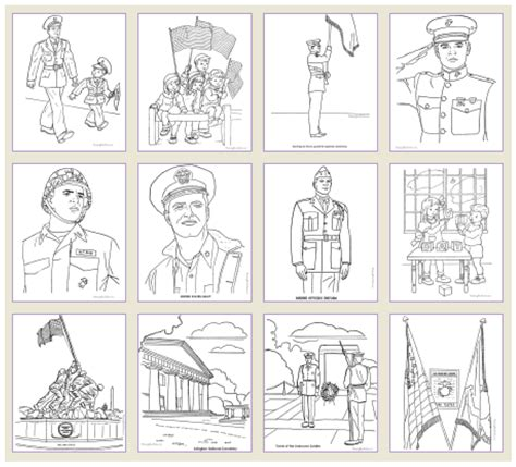 printable coloring pages veterans day veterans day free printable and