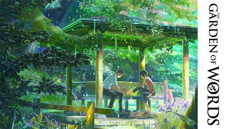 the garden of words japanese trailer youtube