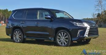 Lexus Lx 2017 Lexus Lx 570 Review Test Drive