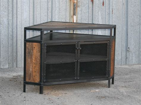 antique corner tv cabinet combine 9 industrial furniture modern industrial
