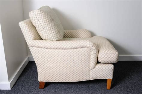 pattern fabric club chair club chair and ottoman with diamond star pattern cream