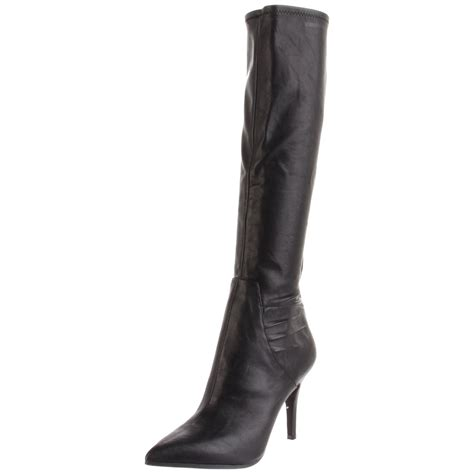 nine west womens fairvinda knee high boot in black lyst