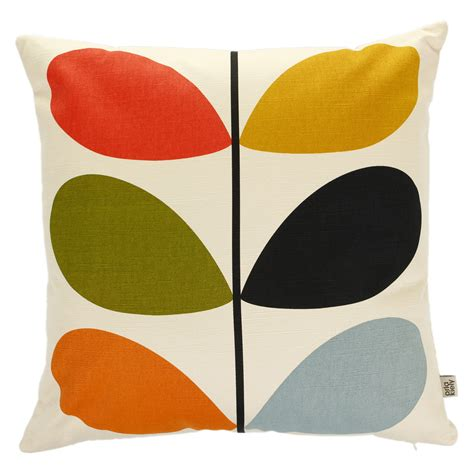 Orla Kiely Multi Stem Cushion   45x45cm   £40.00 at Amara