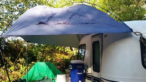 tarp awning fiberglass safe fluid for enhancing suction