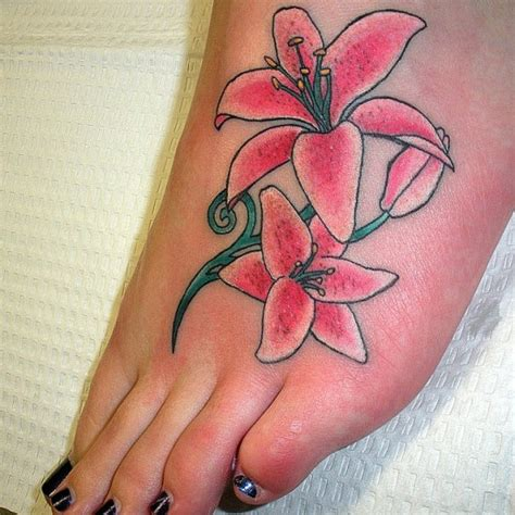 tiger lily tattoo designs tiger tattoos