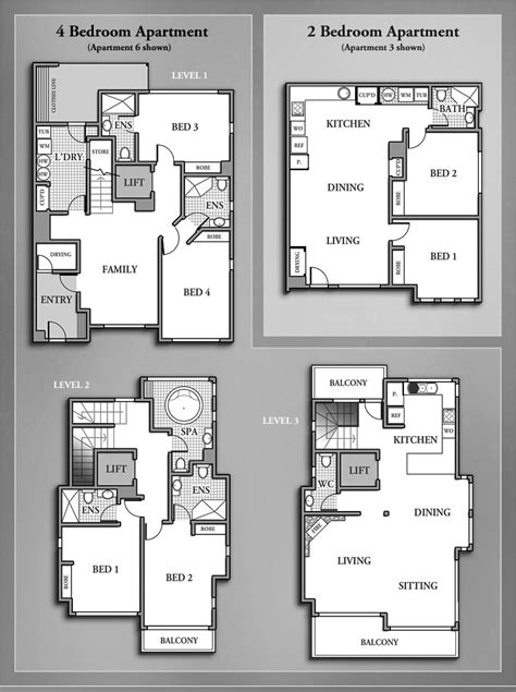 4 bedroom flat floor plan best apartment floor plans 4 bedroom and 2 bedroom photos