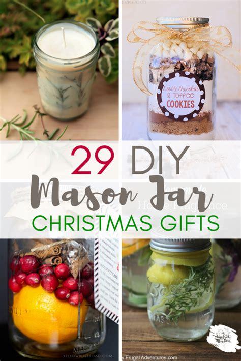 homemade mason jar xmas gifts 29 diy jars gifts a hundred affections