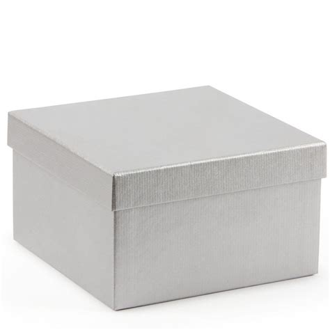 gift box silver kraft medium gift box gift boxes bags wrap