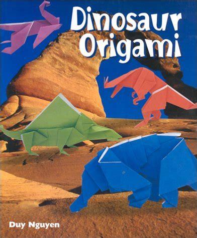 Dinosaur Origami Book - dinosaur origami