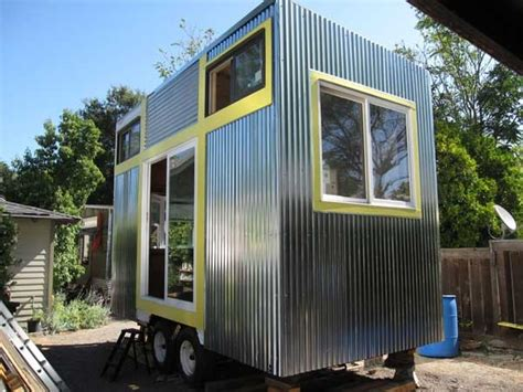 Tiny House On A Flatbed Trailer Decoist Tiny Houses On Trailers