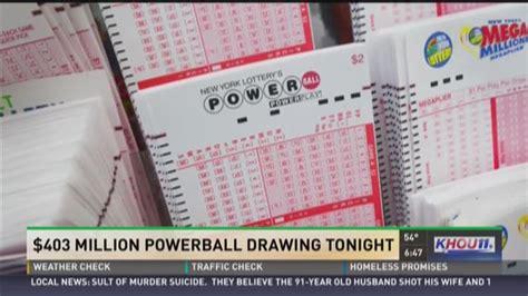 Live Powerball Drawing Tonight