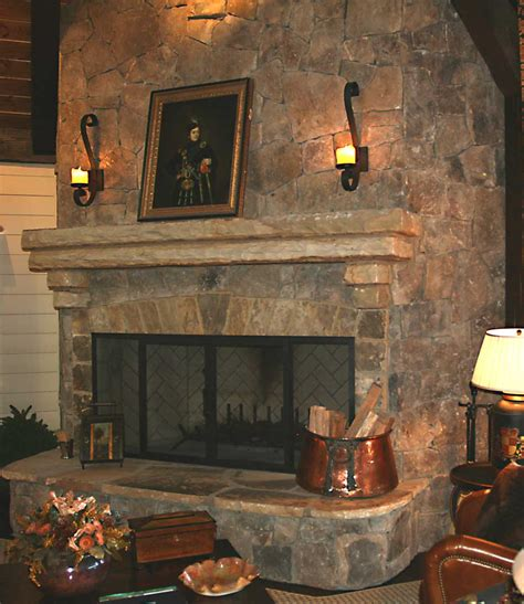 fireplaces and hearth rooms mountain home architects