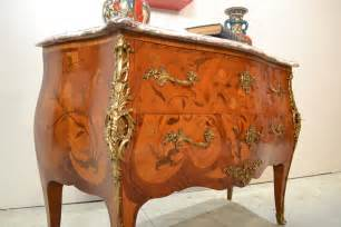commode style louis xv en bois de antic