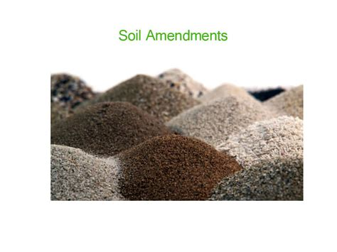 soil amendments manufacturers retailers wholesalers