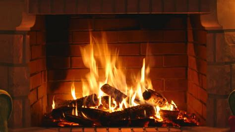 Looping Fireplace by Detailed Background A Looping Clip Of A Fireplace