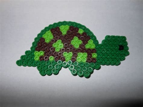 turtle perler perler bead magnet turtle