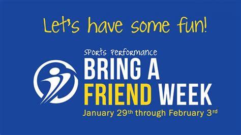 Detox Program Bring A Friend by Bring A Friend Week Athletes Center