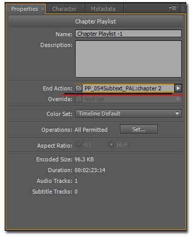 Adobe Encore Cs5 Tutorial adobe encore cs5 chapter playlist