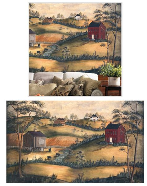 wall scenery murals primitive scenery xl wall mural the frog and the princess