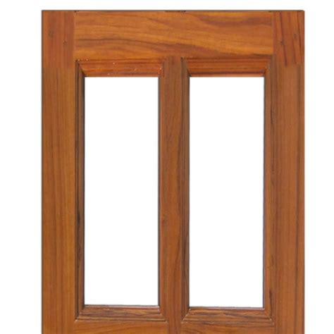 glass on wood teak wood window 4752
