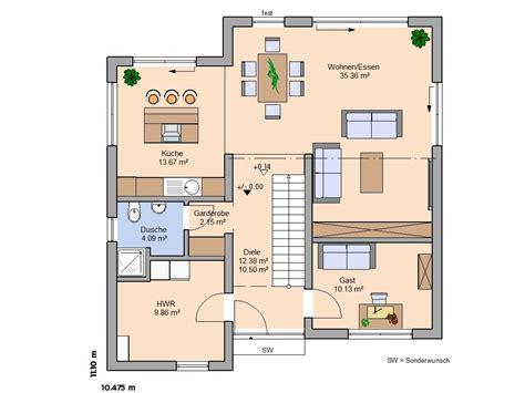 Moderne Grundrisse Einfamilienhaus by H 228 User Beeindruckende Linienf 252 Hrung Bauhaus Linea