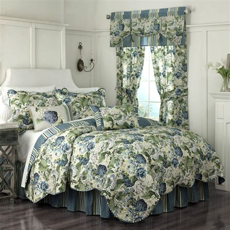 Floral Bedspreads And Comforters floral flourish by waverly bedding beddingsuperstore