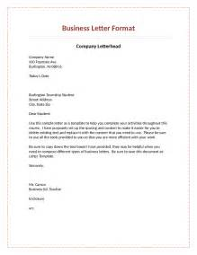 Official Letter Format From And To Official Letter Format How To Write An Official Letter Business Formal Letter Format