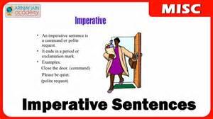 Imperative 1111 Imperative Sentences Youtube
