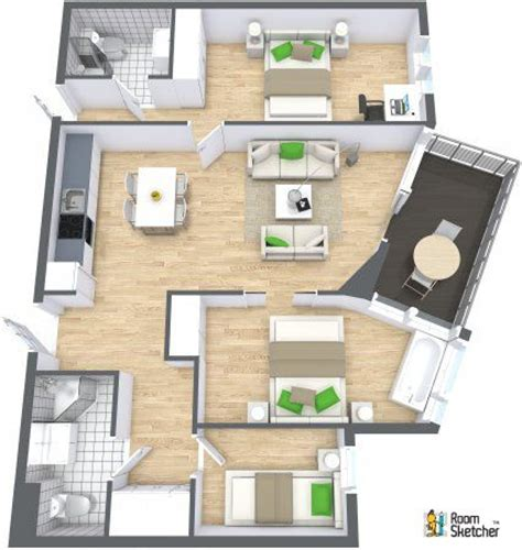 3d floor plans roomsketcher 3d floorplan would make great content for a