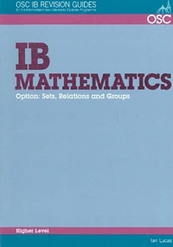 Clearance Stock 56 Off Ib Mathematics Sets Relations