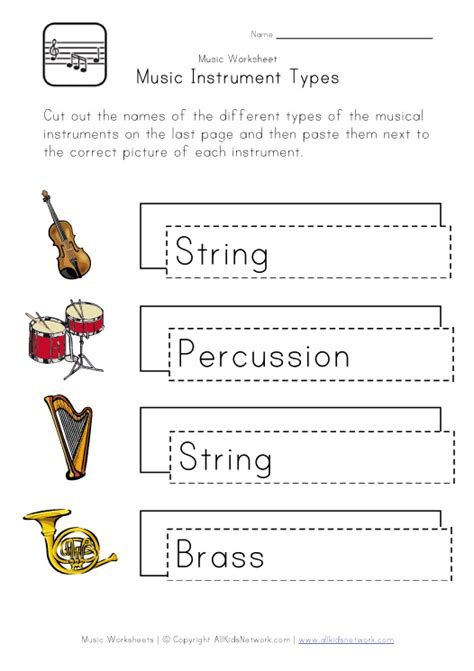 types of sheets free woodwind sheets coloring pages