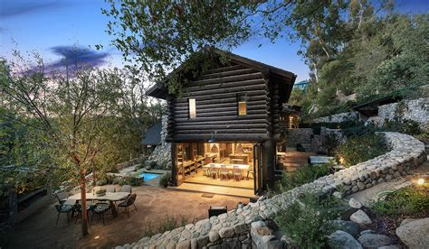 California Cabin For Sale by Renovated California Cabin With Studded History Goes