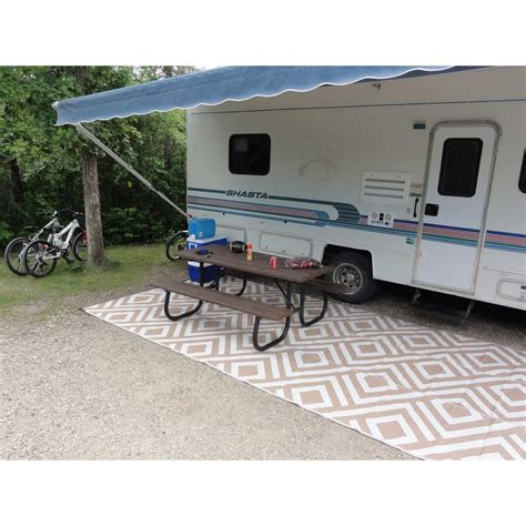 Outdoor Cing Mats Rugs Roselawnlutheran Rv Outdoor Rug