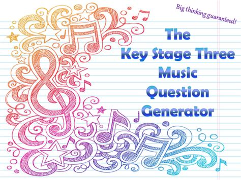 Or Question Generator The Key Stage Three Question Generator By Mikegershon Teaching Resources Tes