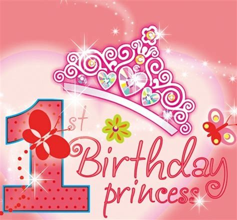 happy 1st birthday images happy 1st birthday princess quotes messages poems images