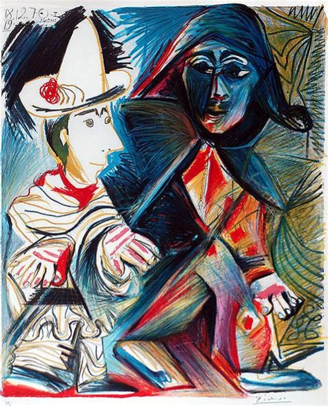 picasso paintings clowns 1000 images about clowns and the circus on