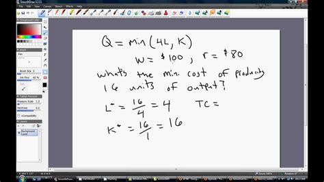 marginal utility review 4 wmv production perfect complements fixed proportions youtube