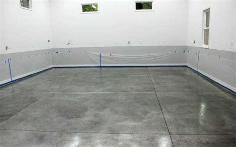Densifier with StainGuard gets a Polished Garage Floor