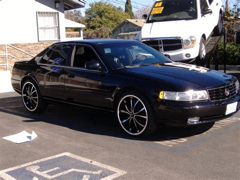 Cadillac On 22s by Stepurgameup 22 2003 Cadillac Seville Specs Photos