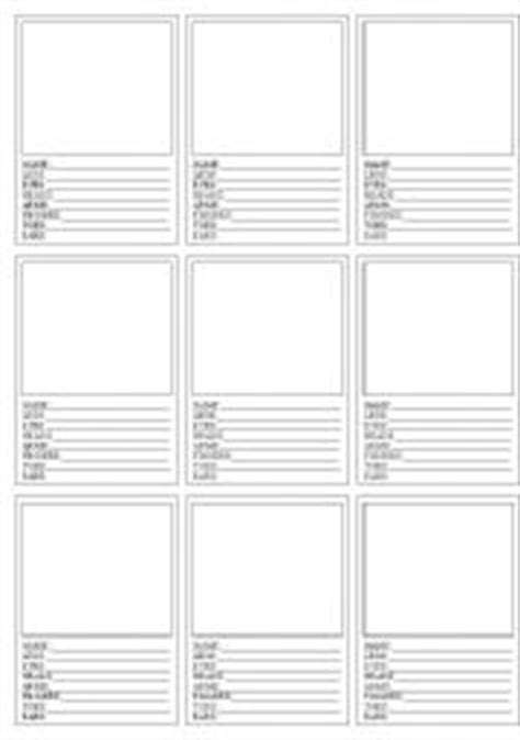 Make Your Own Top Trumps Cards Template by Worksheets Top Trumps Parts Of The