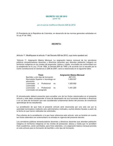 tabla salarial magisterio decreto 0804 de 1995 docentes etnoeducado tabla salarial magisterio decreto 0804 de 1995 docentes